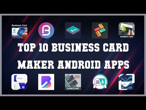 Top 10 Business Card Maker Android App | Review