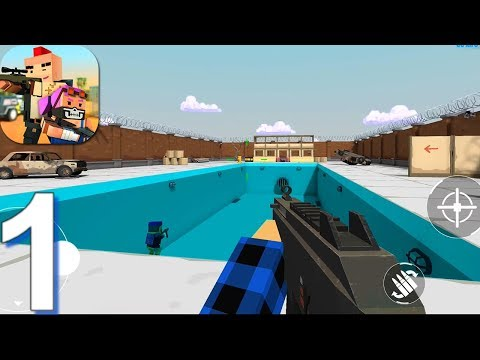 BLOCKFIELD - Gameplay Walkthrough Part 1 Arms Race (Android)