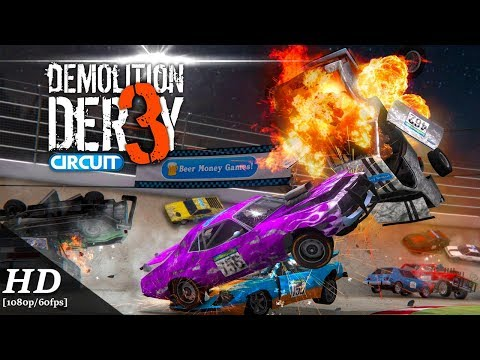 Demolition Derby 3 Android Gameplay [1080p/60fps]