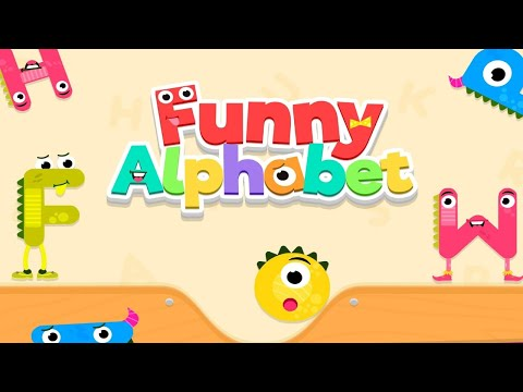 Funny Alphabet For Kids | Learn to Read and Write Letter Alphabet A to Z