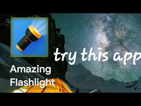 Amazing Flashlight for any Android mobile