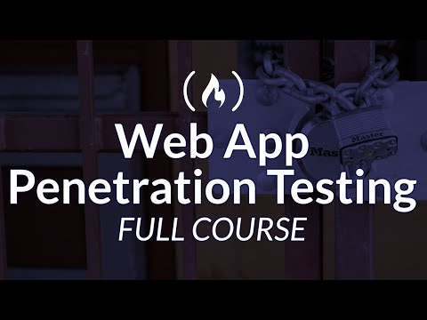 Web Application Ethical Hacking - Penetration Testing Course for Beginners
