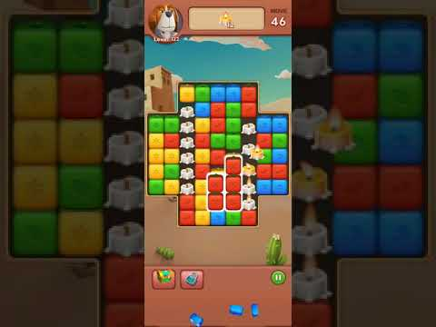 Fruit Block - Puzzle Legend Android GamePlay video level 122, no boosters, best games  for kids