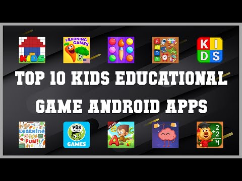Top 10 Kids Educational Game Android App   Review