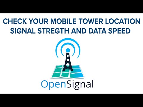 OPEN SIGNAL APP | CHECK YOUR MOBILE SIGNAL STRETCH AND TOWER LOCATION