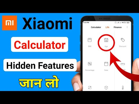 Mi Xiaomi Calculator All Hidden Features Explained || New Update