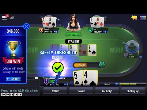WSOP Poker - Texas Holdem 🃏 Gameplay Android, iOS #3