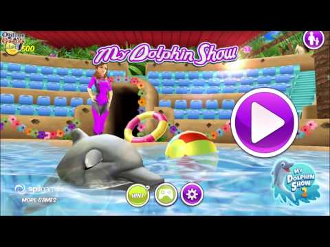 My Dolphin Show android game first look gameplay