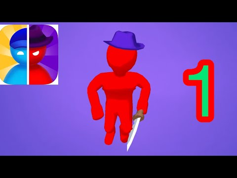 Imposter Hunt gameplay walkthrough part-1 Level 1-10 (iOS, android)