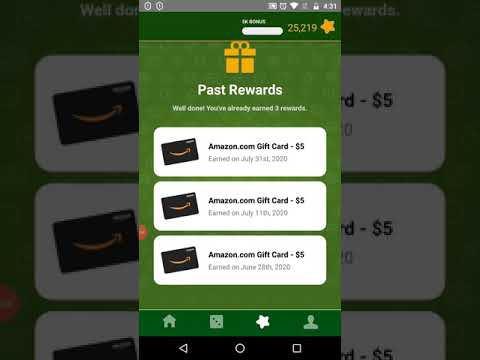 Rewarded Play: Tips on how to get my 3rd Amazon gift card in about 1 month part 3