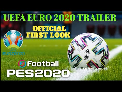 PES 2020 UEFA EURO 2020 OFFICIAL TRAILER FIRST LOOK FINALLY ARRIVED #Gamesworld