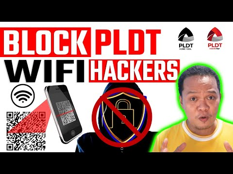 HOW to BLOCK WiFi Hacker on PLDT Home FIbr FOREVER   💯% Working!😲
