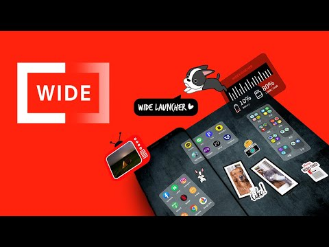 video review of Wide Launcher