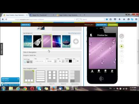How to make an App for free with App Builder Appy Pie?