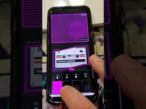 How to make a audio recording with your phone.