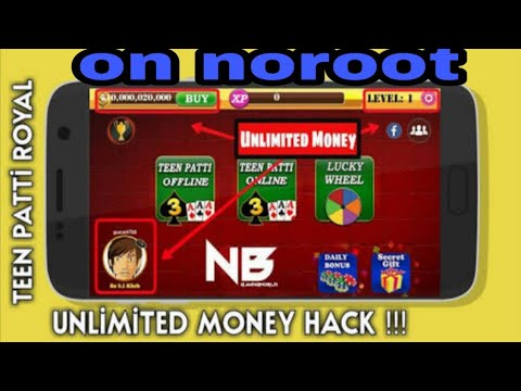 How to hack Teen Patti Royal. Noroot needed || Hack Teen Patti Royal