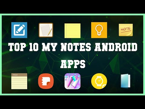 Top 10 My Notes Android App | Review