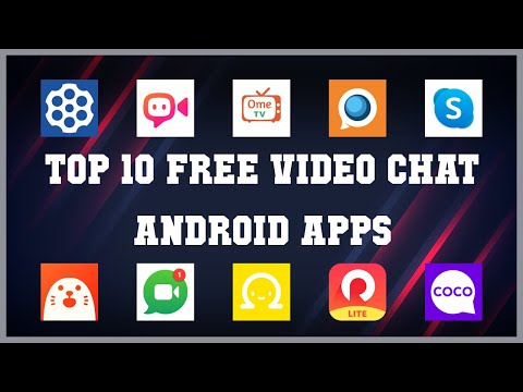 Top 10 free video chat Android App   Review