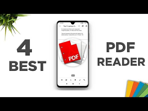 4 Best PDF Reader For Android || Best PDF Reader For Android