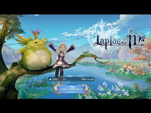 SEA Release! English! - Laplace M Open World MMORPG Android Gameplay OBT