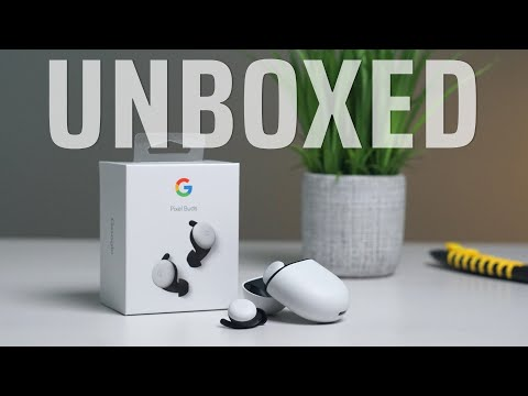 Google Pixel Buds Unboxing And First Set Up