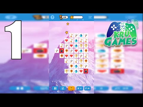 Infinite Connections - Onet Pair Matching Puzzle! Gameplay Walkthrough #1 (Android, IOS)