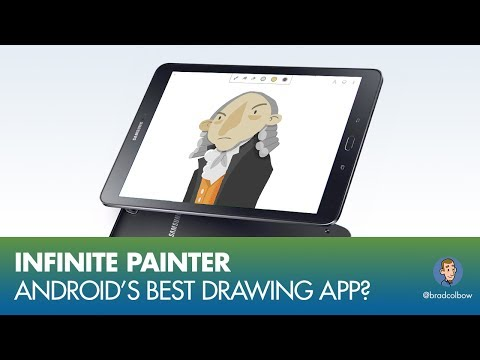 Infinite Painter - Android's Best Drawing App?