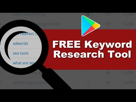 Free Keyword Tool To Increase App install Android || increase Playstore App Download !