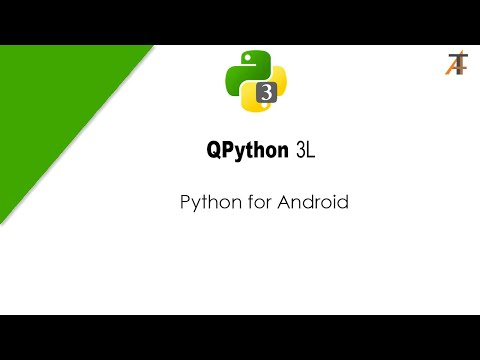 QPython 3L : Python for android.