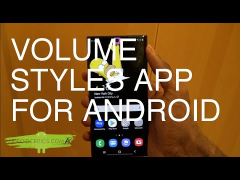 Volume Styles For Android- EXCLUSIVE ANDROID APP YOU MUST INSTALL ON ANY ANDROID DEVICE