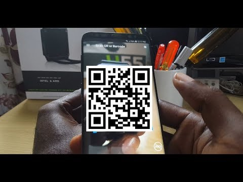 How to Read QR Codes with your Android Phone easily