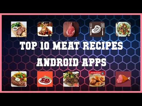 Top 10 Meat Recipes Android App | Review