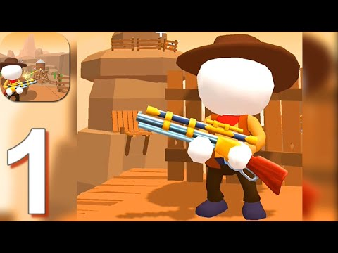 Western Sniper - Gameplay Walkthrough Part 1 Levels 1-30 (Android,iOS)