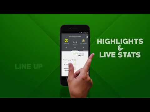 LIVE FOOTBALL APP ANDROID
