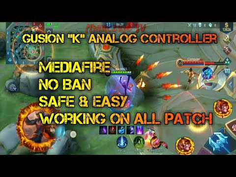 Gusion 'K' Analog Controller   Mobile Legends   Marczkie TV