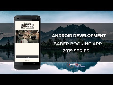 Android Development Tutorial - Barber Booking App part 1 Authenticate User