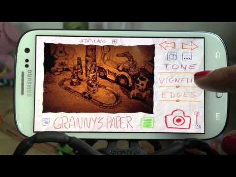 video review of Paper Camera