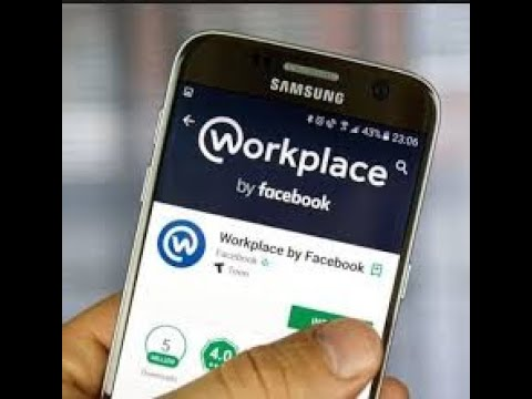 Create a Work place Account By  Android Phone..