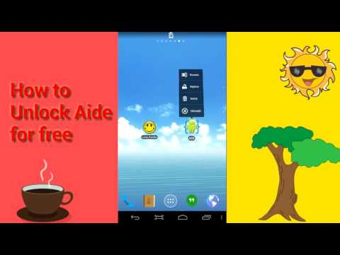 How to Unlock AIDE- IDE for Android Java C