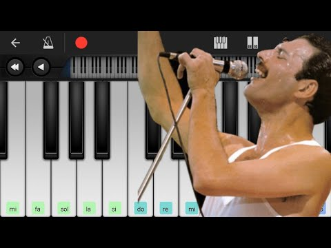 BOHEMIAN RHAPSODY /QUEEN /PERFECT PIANO /ANDROID /EASY