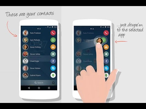 drupe App Contacts Phone Dialer
