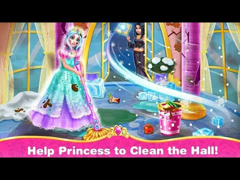 Princess  Room  Cleanup-Girlse Clean Game by Funpop_Kids Toys