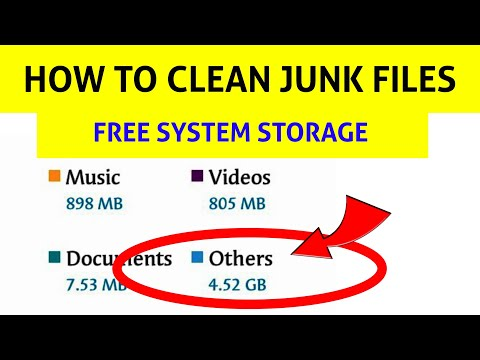 How to clean System Storage, Junk files & Speed Up any android
