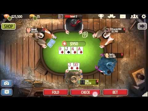 Governor Of Poker 3 - Mobile Game - Gameplay - Poker App - Android - iPhone
