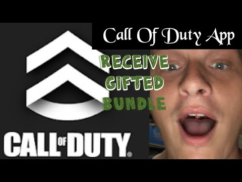 How to receive a gifted bundle through Call of Duty Companion App with King and Wolf
