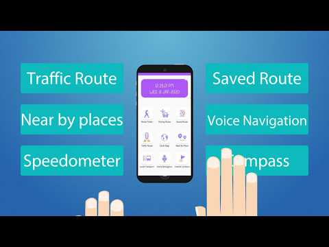 GPS Maps - Location Tracker: Shortest Route | Free Android Apps