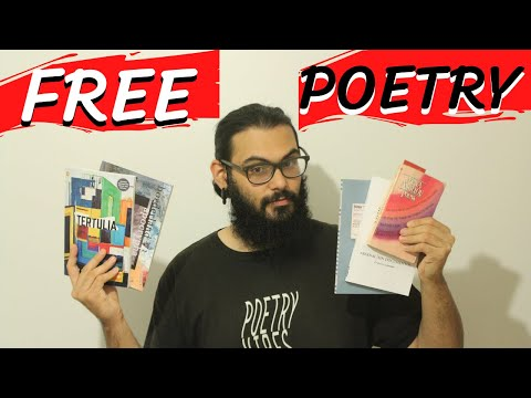 6 Ways to Get (Free) Poetry Books