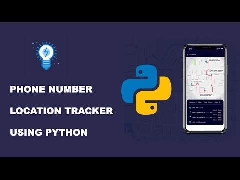 Python Project | Track Phone Number Location Using Python & Web Apps Using Streamlit l Mishu Dhar
