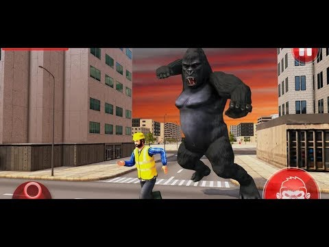 Angry Gorilla City Rampage Android Gameplay