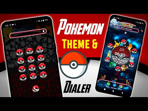 Enable Pokemon Dialer & Theme On Any Android | Customize Home Screen of Any Android | Pikachu Setup